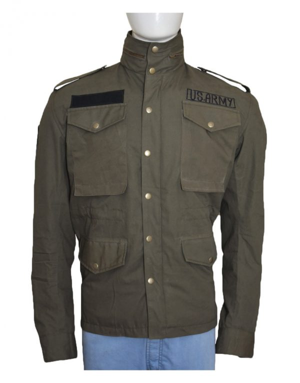 Mafia 3 Lincoln Clay Green M65 Military Field Army Jacket