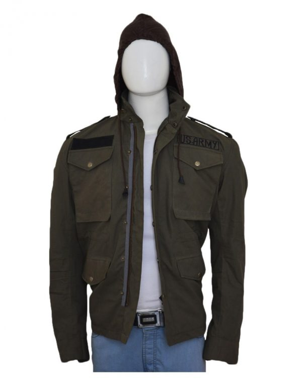 Mafia 3 Lincoln Clay Green M65 Military Field Jacket