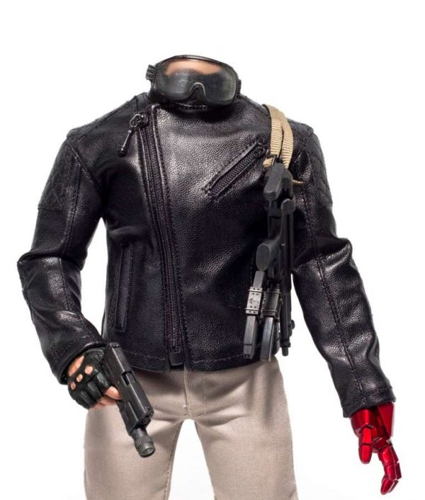 Metal Gear Solid 5 Leather Jacket