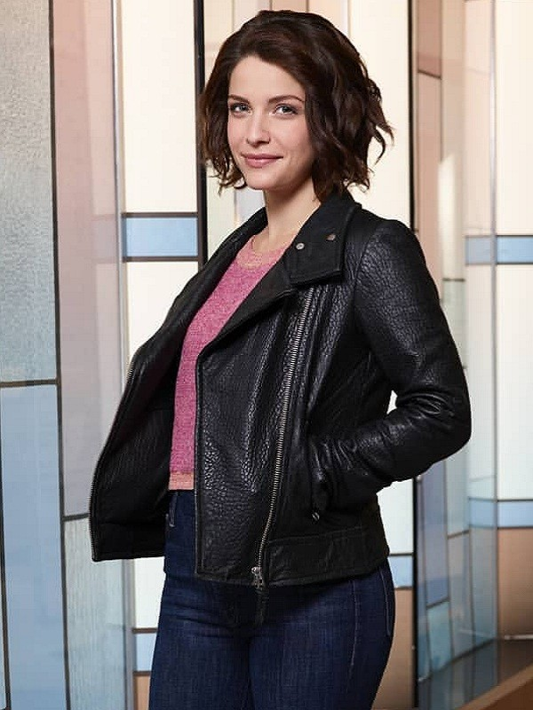 Paige Spara The Good Doctor Leather Jacket