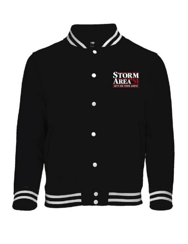 Storm Area 51 Hoodie Jacket With TShirts