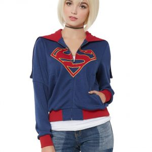 Supergirl Dc Comics Dc Tv Hooded Jacket