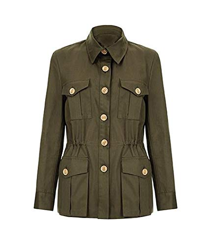 The Tracker Road Master Olive Cotton Jacket