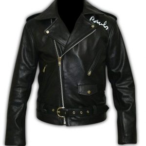 The Wild Ones Black Motorcycle Leather Jacket