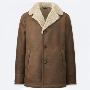 Uniqlo Vegan Shearling Jacket