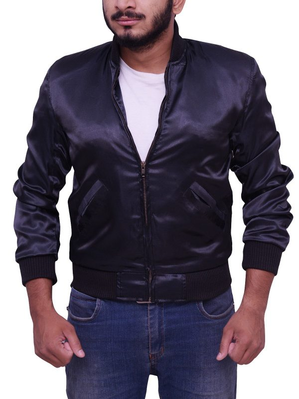 Sylvester Stallone Rocky II Satin Tiger Jacket open