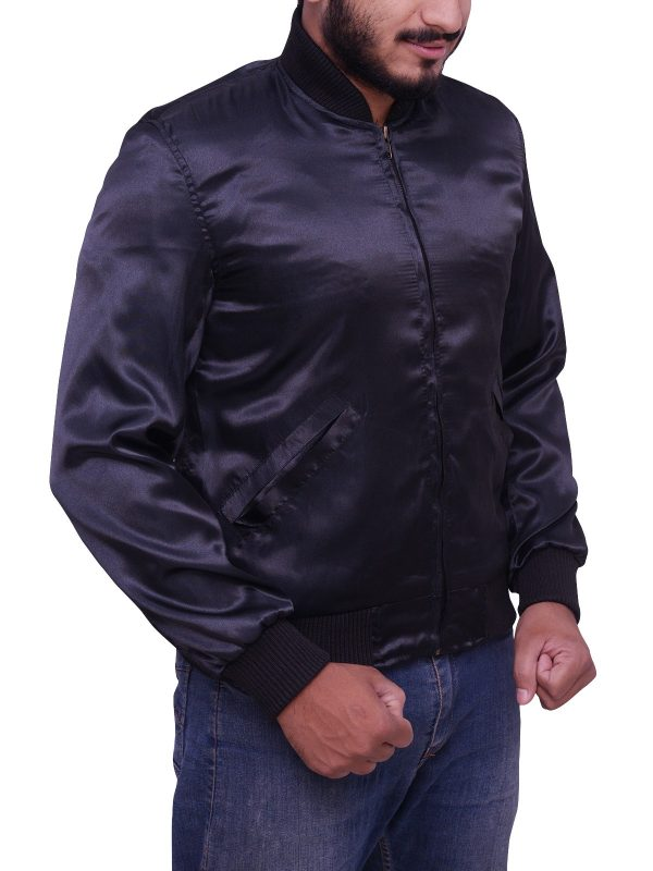 Sylvester Stallone Rocky II Satin Tiger Jacket side