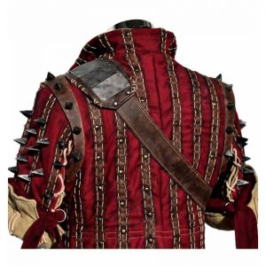 The Witcher 3 Game Eskel Jacket back