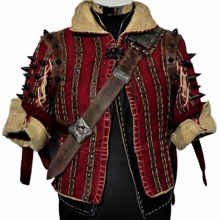 The Witcher 3 Game Eskel Jacket front