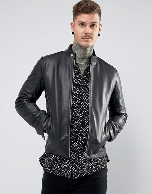 ASOS Black Leather Jackets