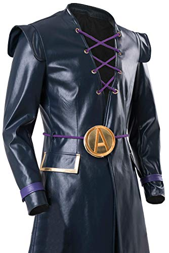 Bizarre Adventure Leone Abbacchio Risotto Nero Halloween Coat side