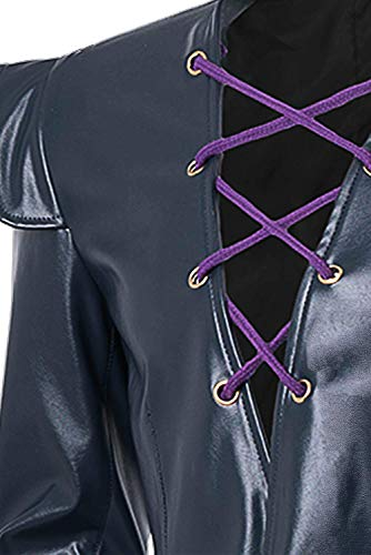 Bizarre Adventure Leone Abbacchio Risotto Nero Halloween Coat