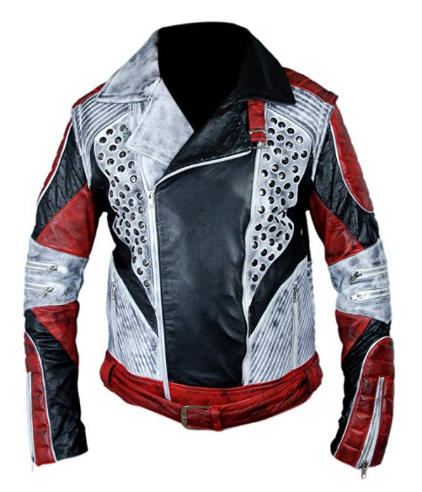 Carlos Cameron Boyce Descendants 2 Red & White Jacket