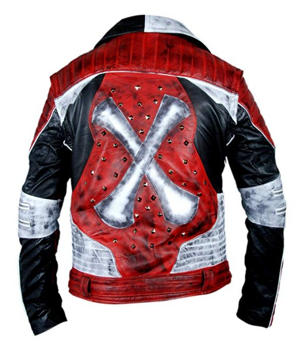 Carlos Cameron Boyce Descendants 2 Red & White Jacket front