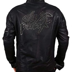 Daft Punk Black Leather Jacket