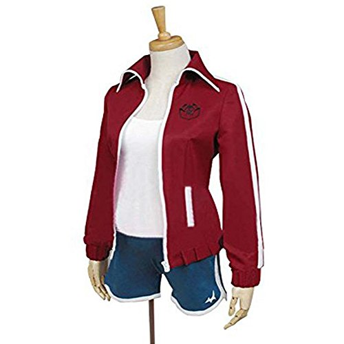 DanganRonpa Kazuichi Souda Red Jumpsuit Jacket side