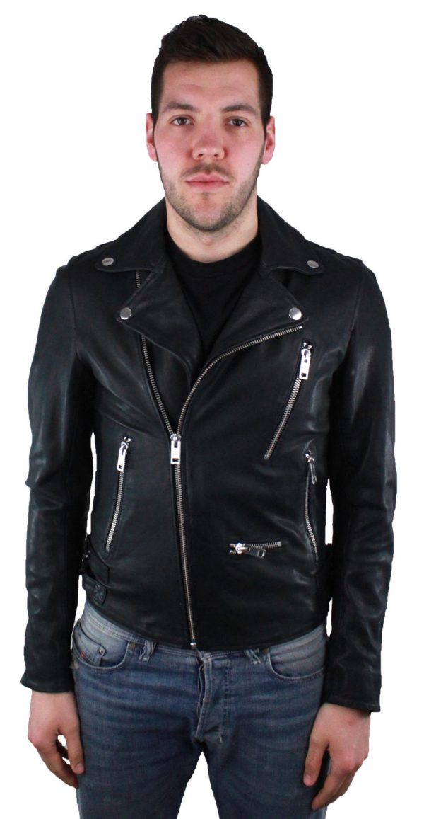 Diesel Gibson leather jacket