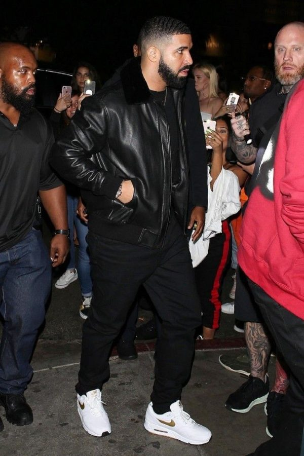 Drake Rapper Bomber Style Leather Jackets