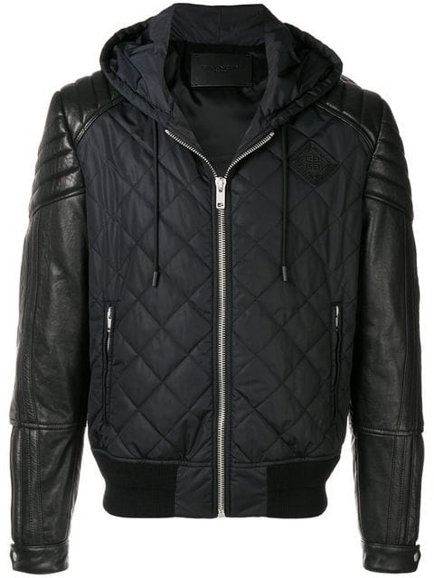 Idris Elba Quilted Bomber Jackit
