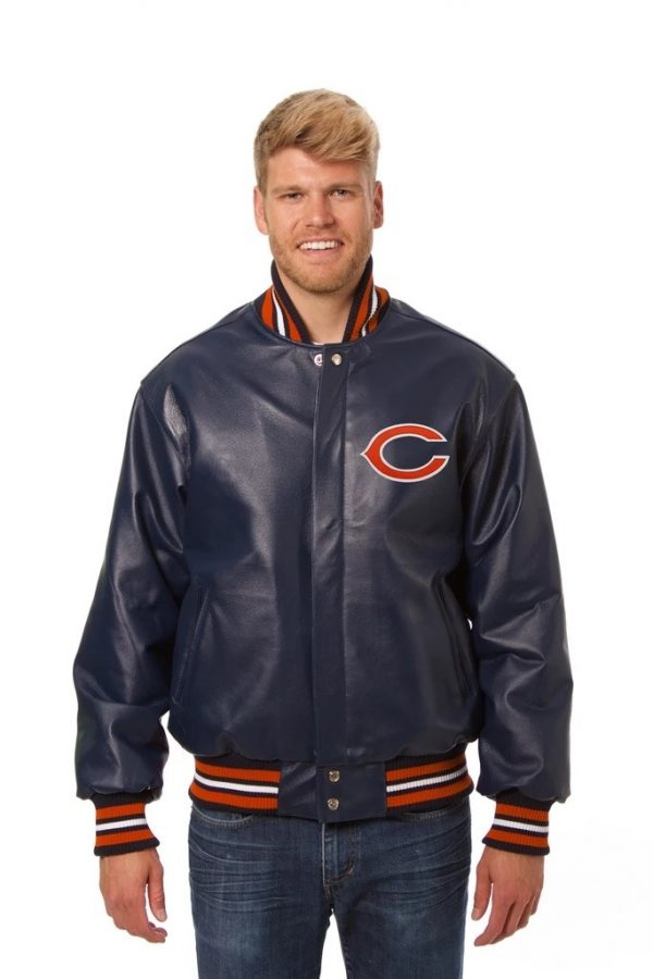 Jay Cutler Chicago Bears Leather GBvsCHI Jacket