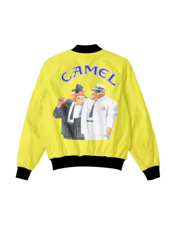 Joe Camel Cigarettes Vintage 1992 Yellow Jacket