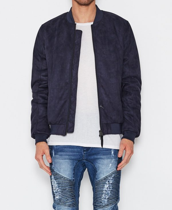Venice Patriot Chacey Blue Bomber Jacket