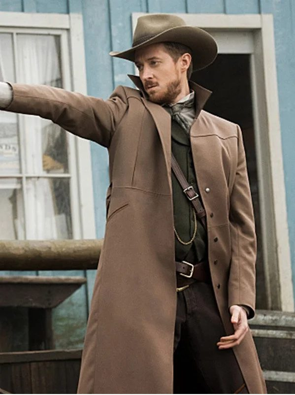 Legends Of Tomorrow Arthur Darvill Trench Coat