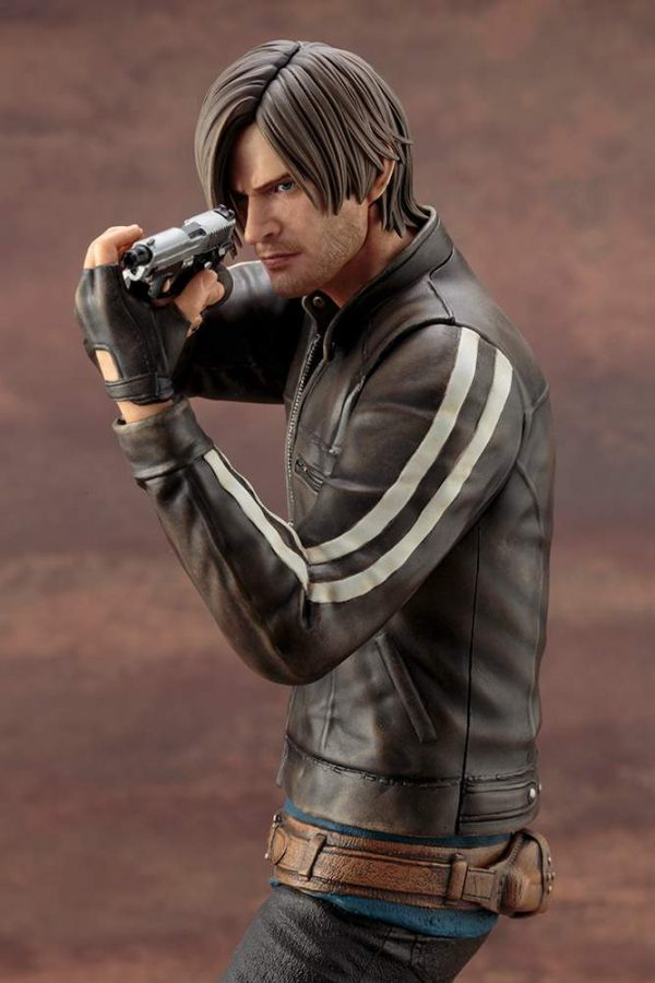 Leon Scott Kennedy Resident Evil White Stripes Jacket