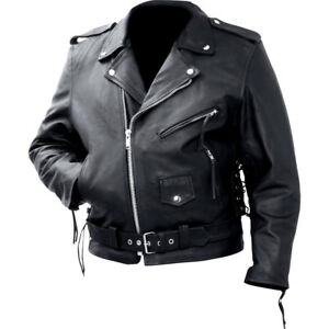 Marlon Brando Belted Motorcycle Jacket