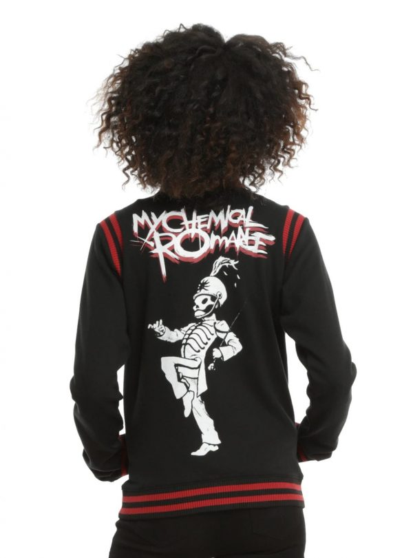 My Chemical Romances Black Parade Varsity Jacket back