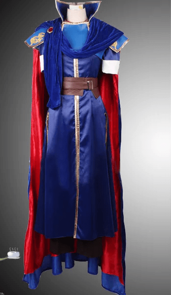 Mystery of the Emblem Fire Marth Cosplay Coats