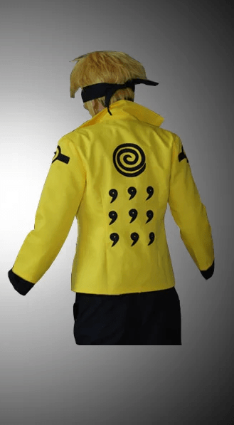 Naruto Uzumaki Six Paths Sage Cosplay Jacket