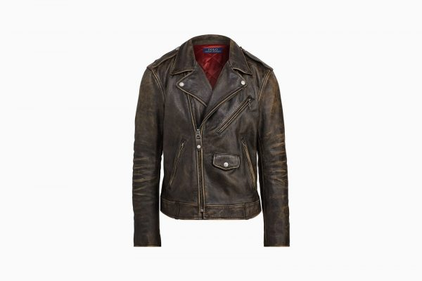 Polo Ralph Lauren Iconic Leather Jacket