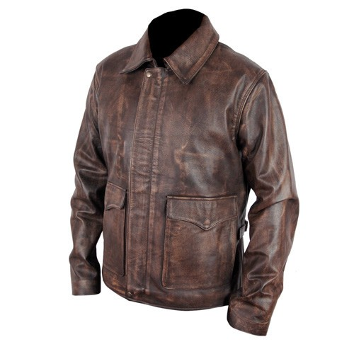 Raider Of The Lost Indiana Jones Ark Leather Jacket