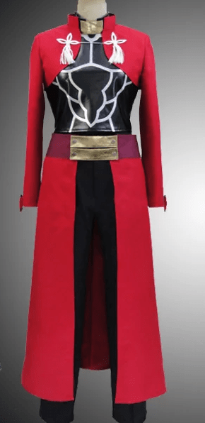 Sal Fate Stay Night Archer Cosplay Red Coats