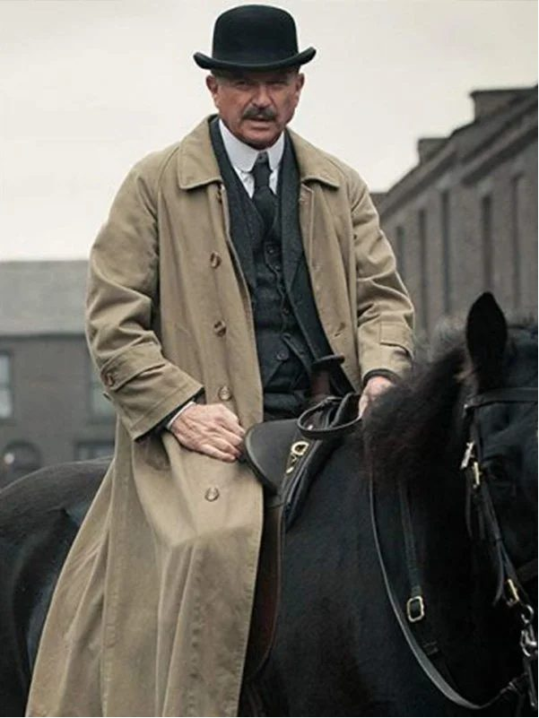 Sam Neill Peaky Blinders Trench Coat