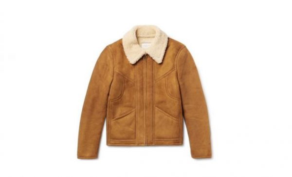 Sandro Brown Leather Jacket