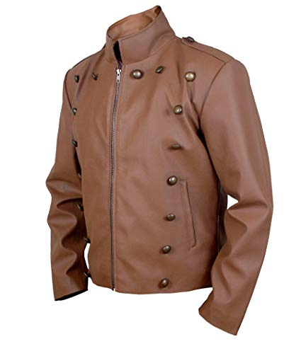 Secord Bill Rocketeer Cliff Campbell Pilot Flight Leather Jacket look