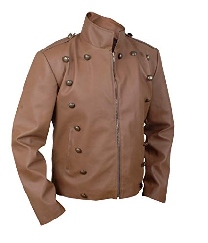 Secord Bill Rocketeer Cliff Campbell Pilot Flight Leather Jacket side