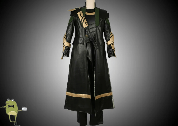 The Avengers Loki Cosplay Trench Coat