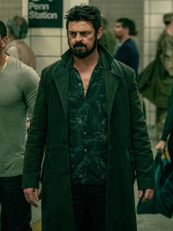 The Boys Karl Urban Billy Butcher Coat