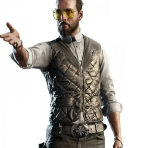 The Father Seed Far Cry 5 Joseph Leather Vest