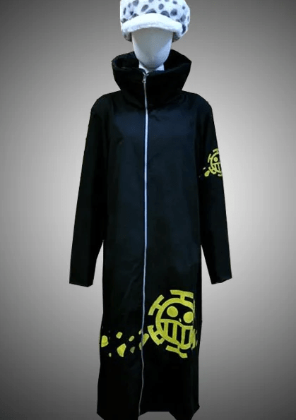 Trafalgar Law One Piece Cosplay Black Coat