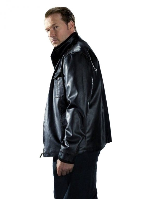 Blue Bloods Donnie Wahlberg Leather Jacket