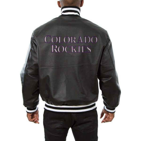 Colorado Rockies Baseball Leather Jackets