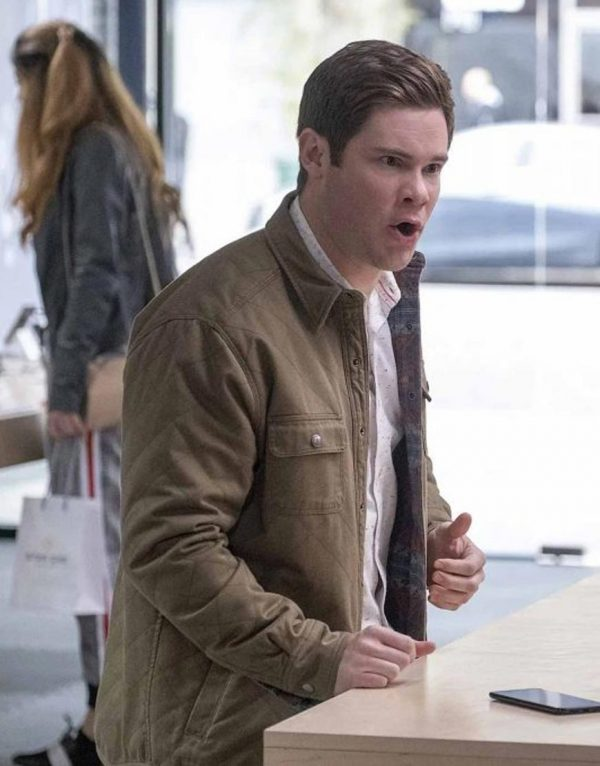 Jexi Adam Devine Cotton Jacket