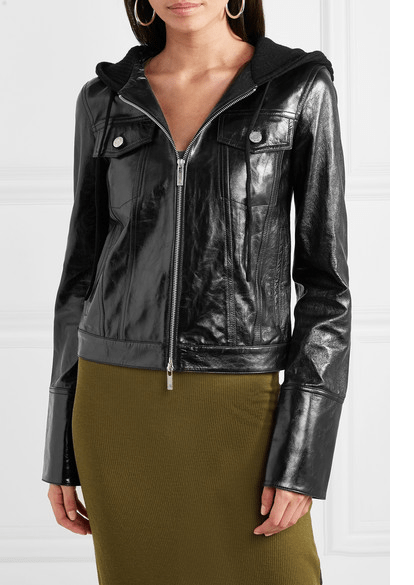 Liz Ortecho Roswell New Mexico Black Leather Jackets