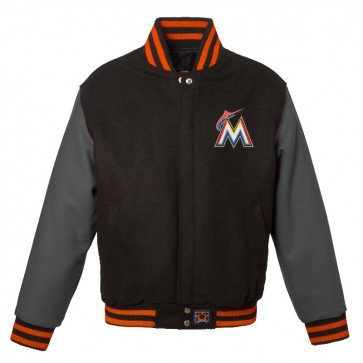 Miami Marlins Baseball Varsity Jacket