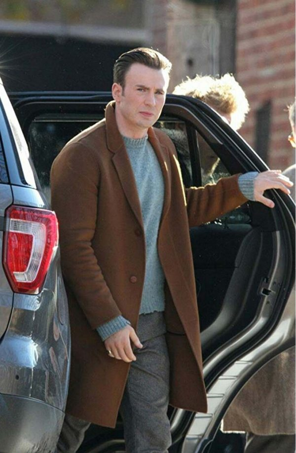 Robinson Knives Out Chris Evans Coat