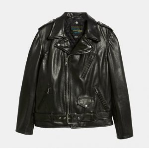 Schott Oil Tanned Leather Moto Jacket